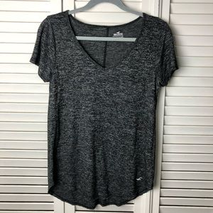 Hollister Must Have Collection Charcoal Pocket Tee